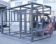 Herstellung der Stahlkonstruktion (3)