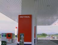 Metallelemente der Tankstelle (6)