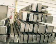 Teile der Metallkonstruktion (6)