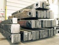 Teile der Metallkonstruktion (7)