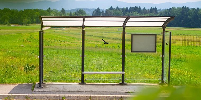 Bushaltestellen
