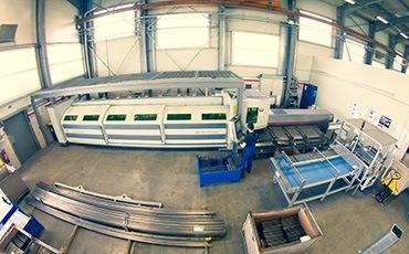 Laserschneiden von Rohren mit Fasertechnologie