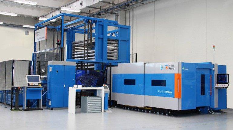 Neue Laserschneidmaschine PLATINO FIBER EVO